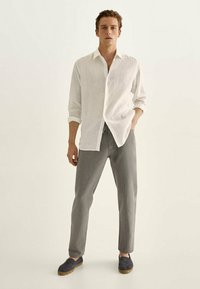Massimo Dutti - IM VINTAGELOOK  - Trousers - grey - 1