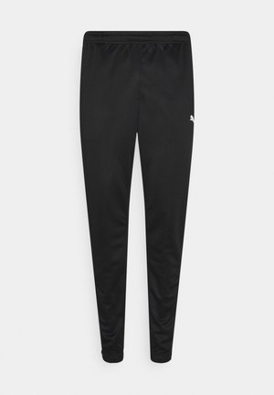 TEAMRISE TRAINING PANTS - Pantaloni sportivi - black/white