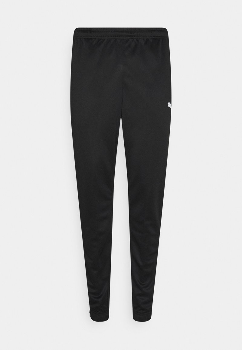 Puma - TEAMRISE TRAINING PANTS - Joggebukse - black/white