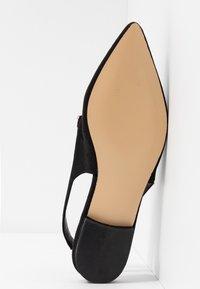 Hot Soles - Slingback ballet pumps - black - 6