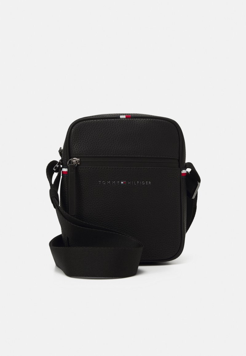 Tommy Hilfiger - ESSENTIAL MINI REPORTER UNISEX - Across body bag - black