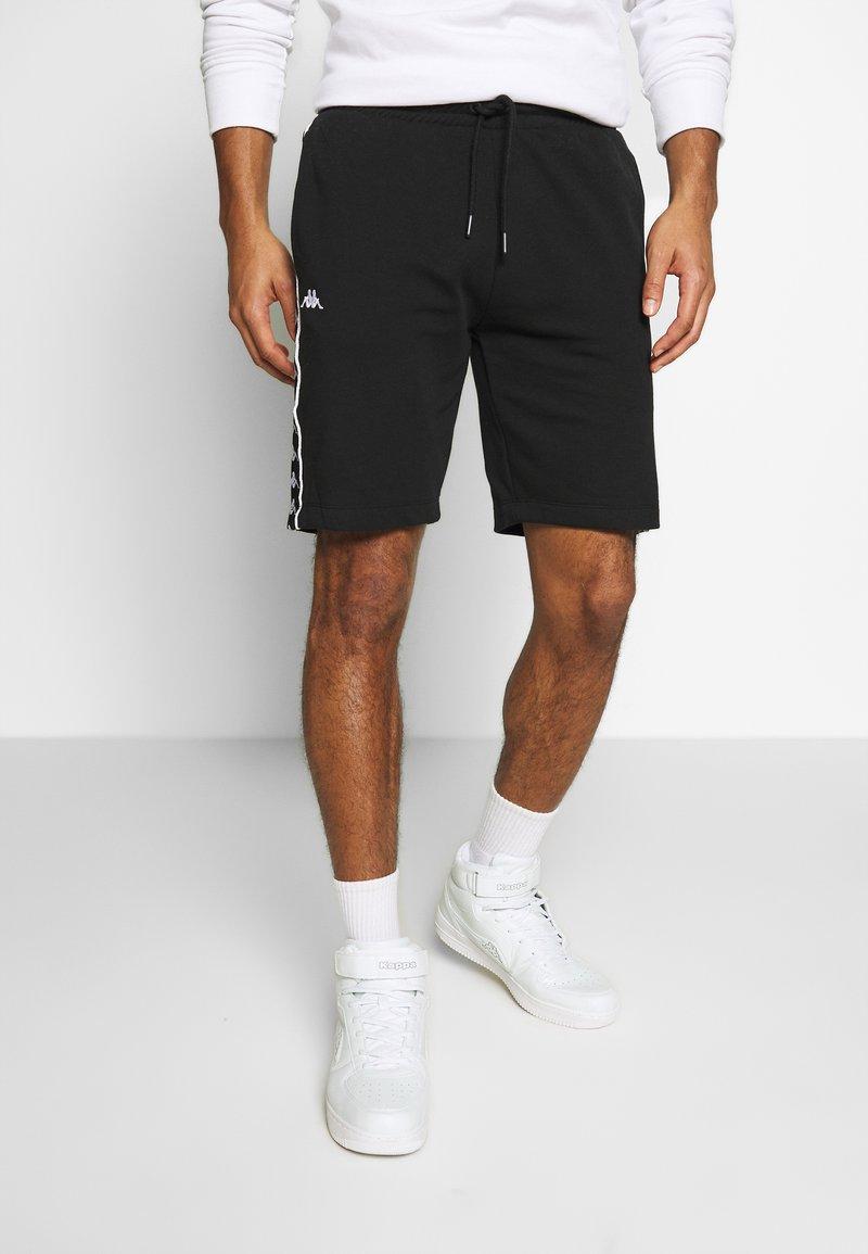 Kappa - GAWINJO - Pantalón corto de deporte - caviar