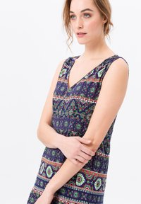 Green Cotton - Maxi-jurk - dunkelblau/multicolor - 3