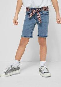 s.Oliver - Denim shorts - light blue - 0