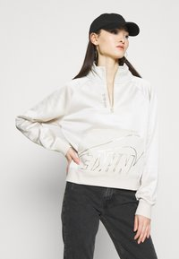 Nike Sportswear - Sweatshirt - orewood/oatmeal/metallic gold - 4