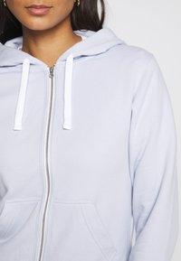 Calvin Klein Underwear - MODERN LOUNGE FULL ZIP HOODIE - Pyžamový top - ice pulp - 4