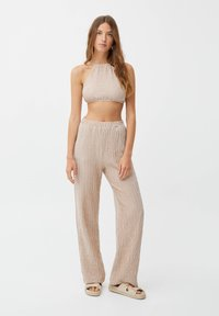 PULL&BEAR - Trousers - brown - 1