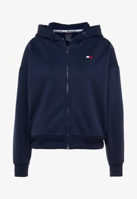 Tommy Sport - ZIP UP HOODY - Fleece jacket - blue - 6