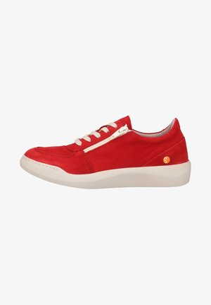 Sneakers laag - lipstick red