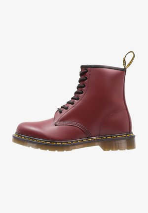 1460  BOOT - Bottines à lacets - cherry red rouge