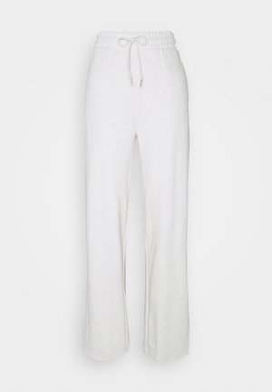HER WIDE PANTS - Jogginghose - puma white heather
