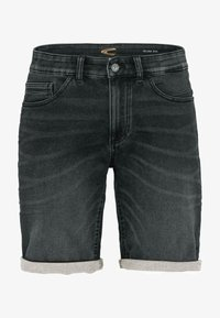 camel active - Denim shorts - black - 0