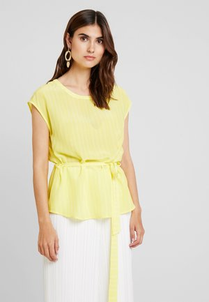 TUNNEL AT BACK FOR IN - Blouse - yellow