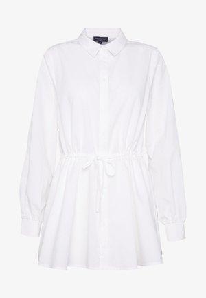 SLFALLEN TIE - Button-down blouse - snow white