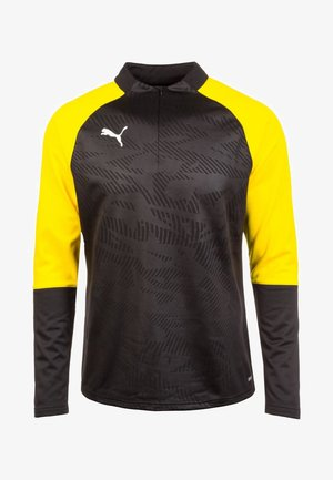 Sports shirt - black /  yellow