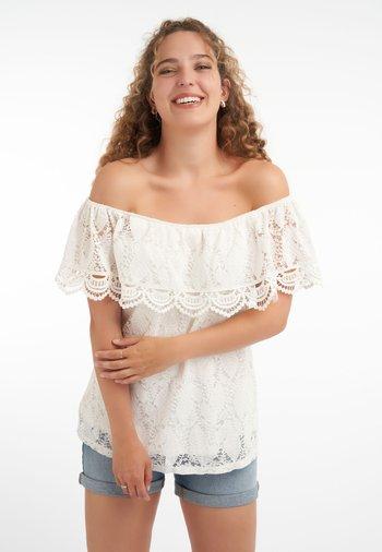 MET KANT - Blouse - off-white