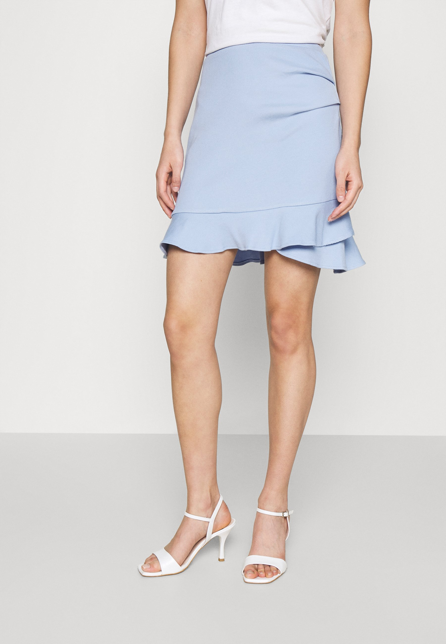 Mujer LUCY FRILL SKIRT - Minifalda