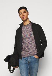 PS Paul Smith - MENS REG FIT ZIP TOP - Zip-up hoodie - black - 3