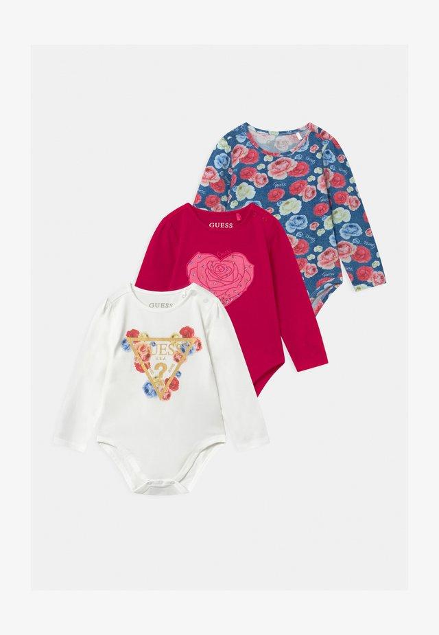 BABY 3 PACK - Geboortegeschenk - berry sorbet