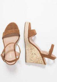 New Look - PERTH - Sandály na vysokém podpatku - tan - 3