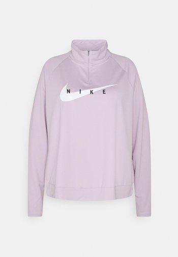 RUN MIDLAYER PLUS - T-shirt sportiva - iced lilac/white
