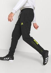 adidas Performance - JUVENTUS TURIN  - Club wear - black/acid yellow - 3