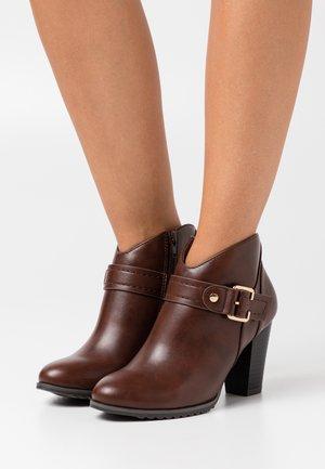 ADALINE - Ankle boots - cognac