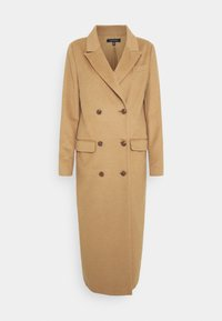 Who What Wear - DOUBLE BREASTED COAT - Zimní kabát - camel - 5
