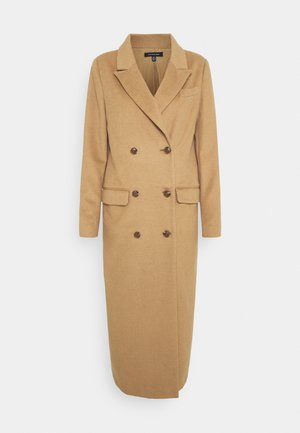 DOUBLE BREASTED COAT - Classic coat - camel