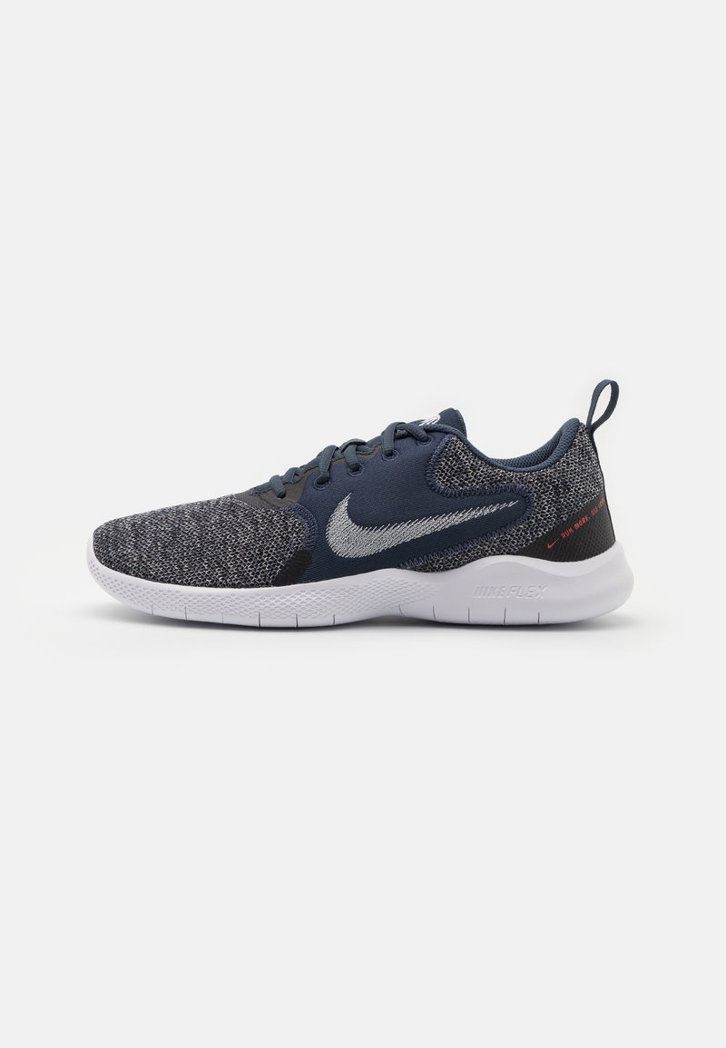Nike Performance - FLEX EXPERIENCE RN 10 - Chaussures de running neutres - thunder blue/pure platinum/black/white/chile red