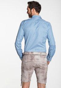 Spieth & Wensky - GABRIEL - Leather trousers - beige - 1