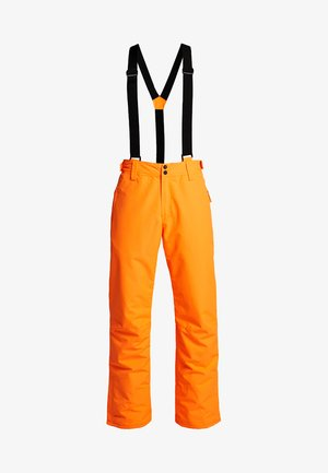 FOOTSTRAP MEN SNOWPANTS - Pantaloni da neve - fluo orange