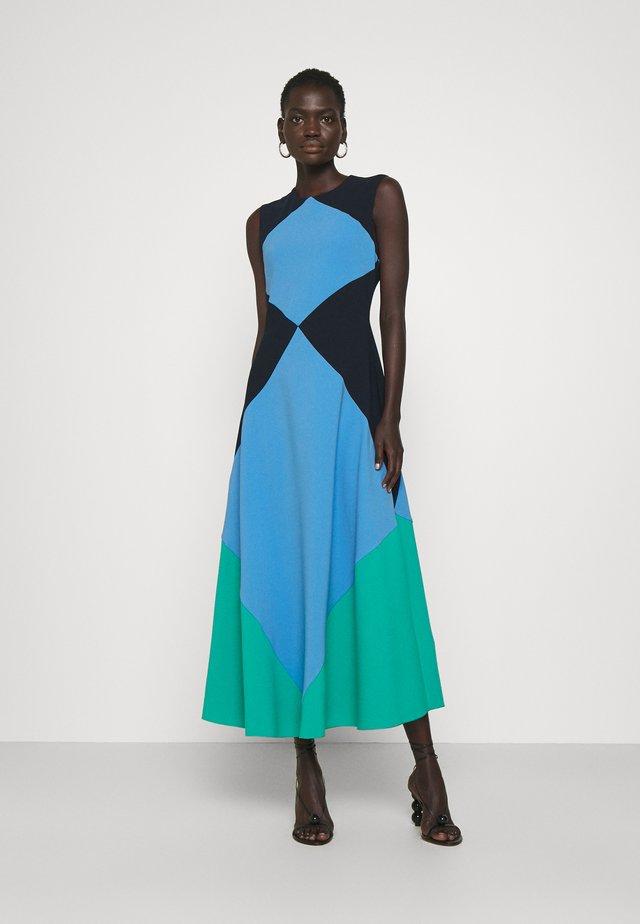 ADABEL DRESS - Korte jurk - navy/light blue/tropics
