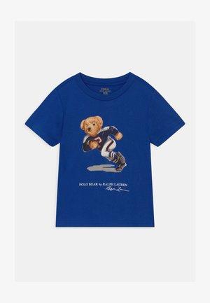 T-shirt med print - sistine blue
