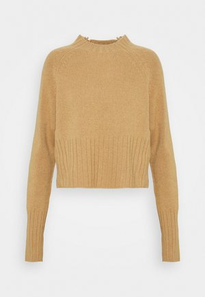 ERIN - Pullover - regenerated cashmere beige