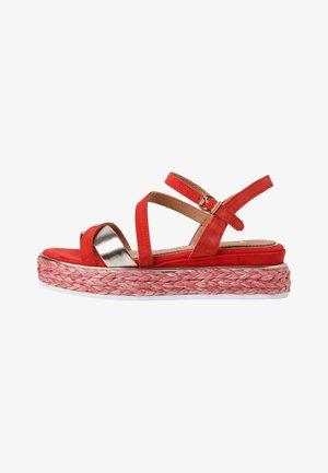 BY GUIDO MARIA KRETSCHMER - Platform sandals - fire comb