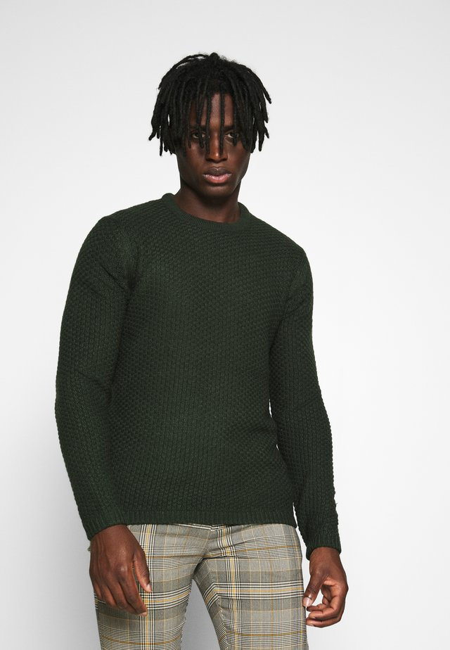 ONSLOCCER CREW NECK - Maglione - scarab