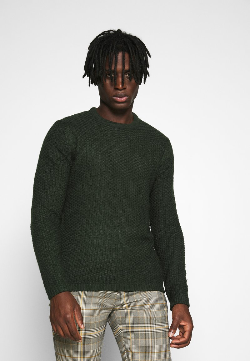 Only & Sons - ONSLOCCER CREW NECK - Jumper - scarab