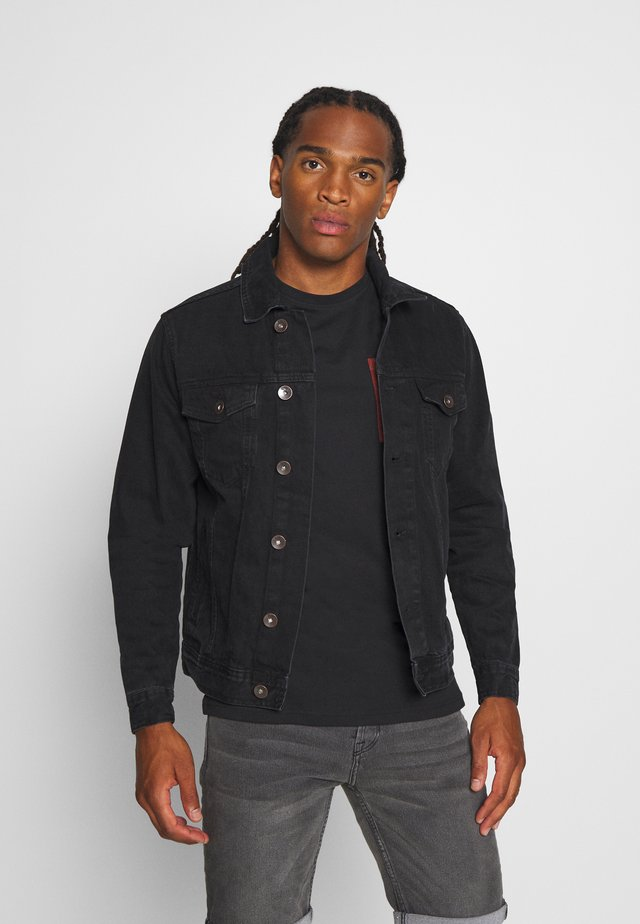 MARC JACKET - Spijkerjas - black stone