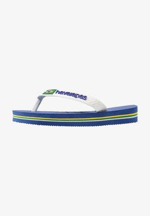 BRASIL LOGO - Boty do bazénu - blue, white