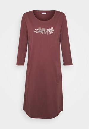 NIGHTGOWN - Nachthemd - dark bordeaux