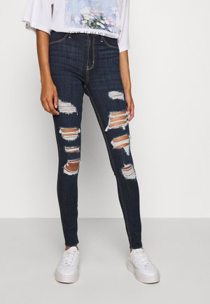 CURVY MAX  - Jeans Skinny Fit - destroyed denim