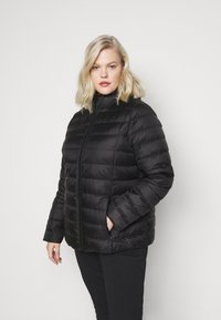 Even&Odd Curvy - Down jacket - black - 0