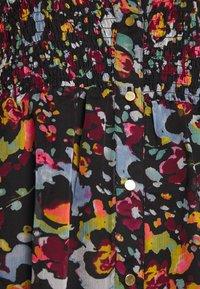 ONLY - ONLEVELINE MIDI DRESS - Shirt dress - black - 5