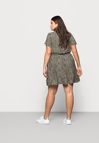 New Look Curves - FLO ANIMAL DRESS - Day dress - black - 2