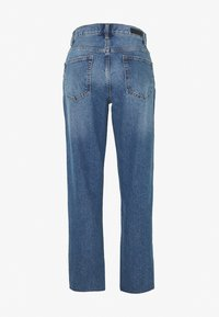 JDY - TUBA LIFE GIRLFRIEND CROPPED - Jean boyfriend - medium blue denim - 1