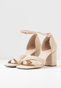 NA-KD - BRAIDED  - Sandals - natural - 4