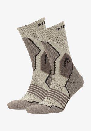2 PACK - Socks - light brown melange