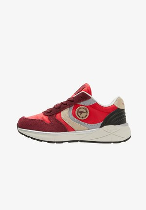 ROOSKICKX ROOKI SPORT - Trainers - fiery red/creme white