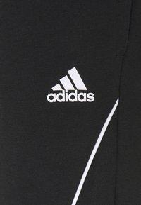 adidas Performance - Spodnie treningowe - black/white - 5
